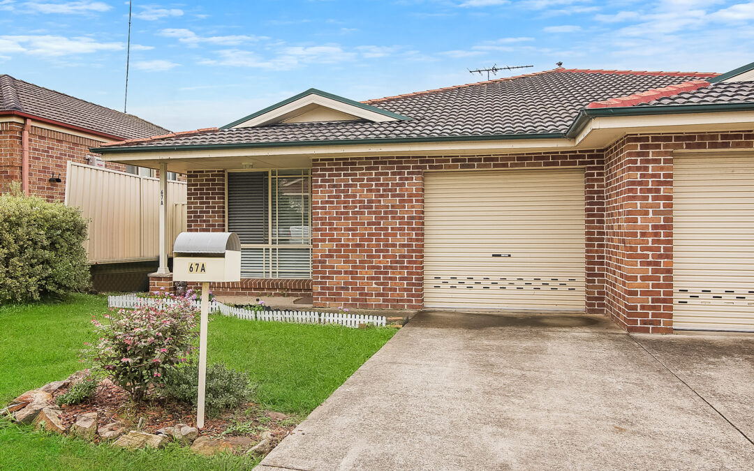 Smart, single level torrens title Three -Bedroom duplex Home with LUG Parking!