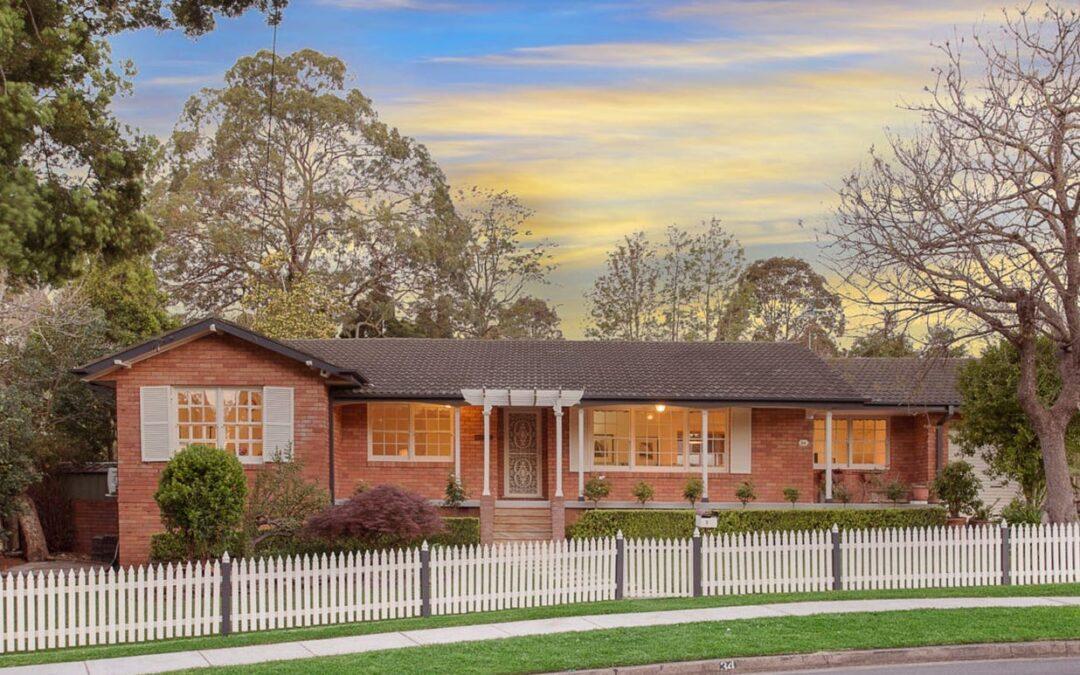 34 Boyd Ave, West Pennant Hills  NSW  2125